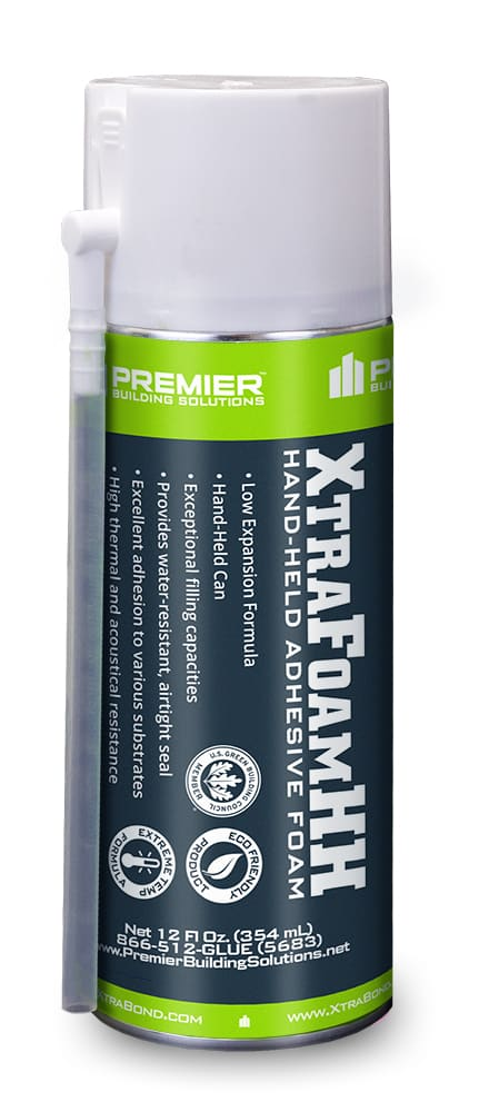 XtraFoam™HH – Hand Held Minimal Expanding Foam Sealant