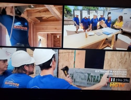 Extreme Makeover: Home Edition Features XtraBond Products